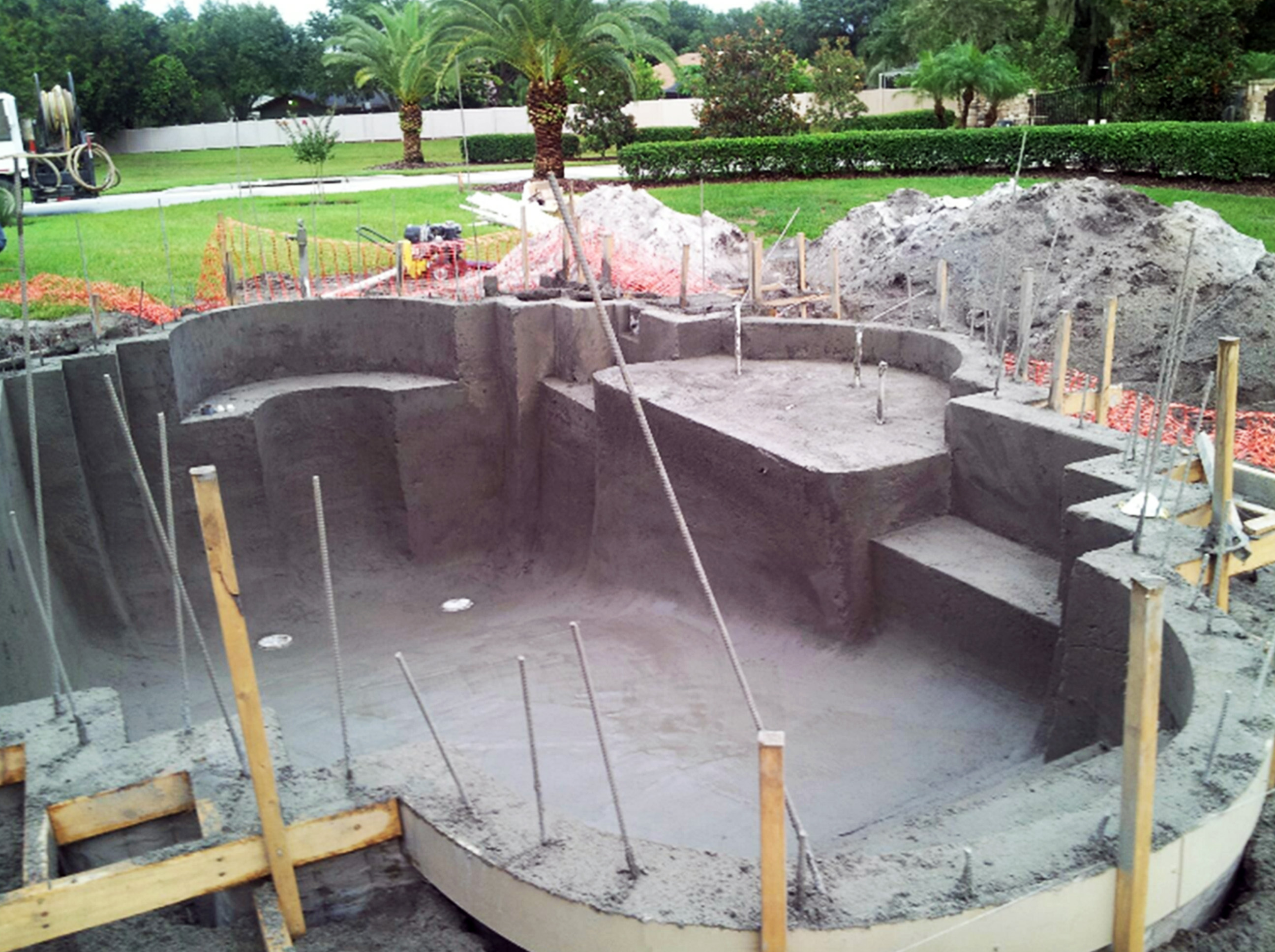 custom pool builders lakeland fl pool blue inc