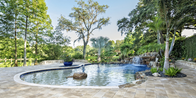 We specialize in custom inground swimming pools